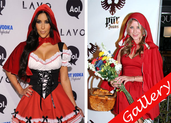 15 celebrities wearing the same halloween costume - Halloween Costume Celebrities