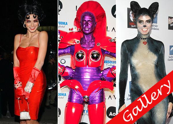 Heidi Klum Halloween Costumes Over The Years
