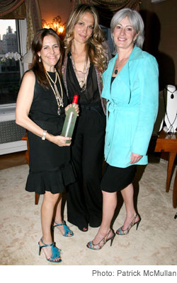 Alexandra Lebenthal Molly Sims  Michelle Smith