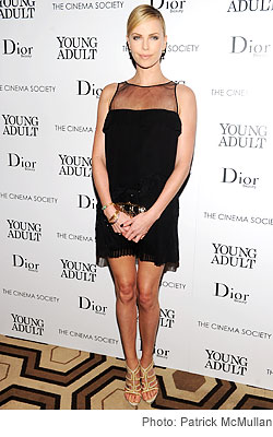 Charlize Theron Cinema Society & Dior Beauty screening 'Young Adult'