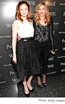Andrea Riseborough Madonna Cinema Society screening W.E.