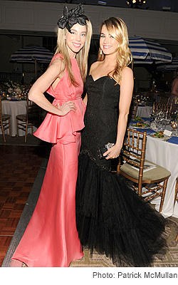 Alexandra Lind Rose and Amanda Hearst
