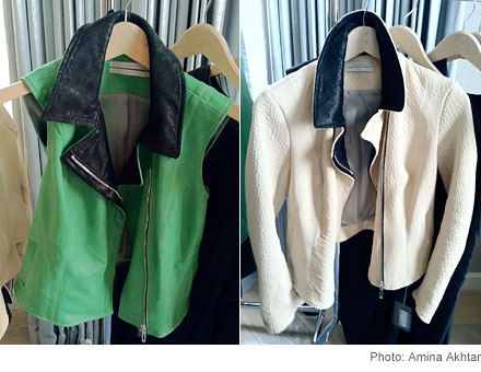 Jackets  Theonne's Spring 2012