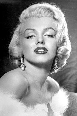 Marilyn Monroe Dior beauty campaign