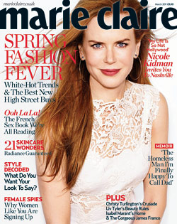 Nicole Kidman Marie Claire UK Cover