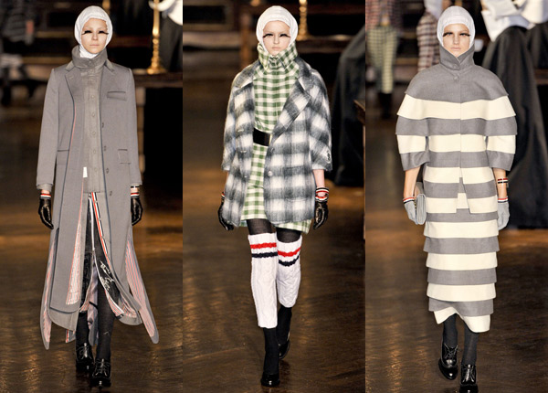 Thom Browne fall 2011 runway