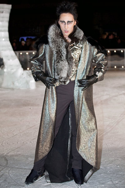 Elise Overland Johnny Weir Fall 2011 RTW