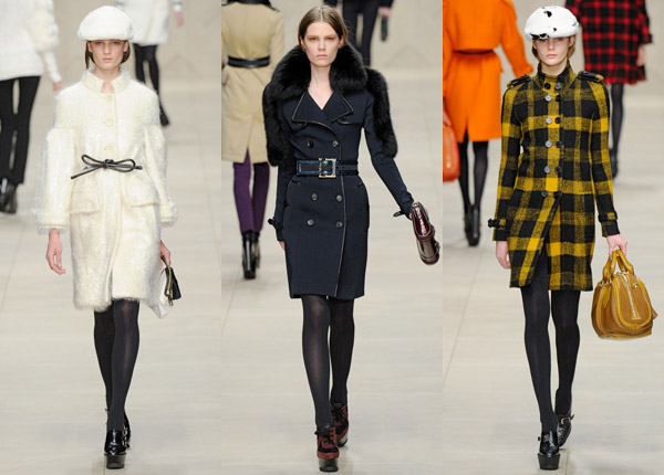 Burberry Prorsum Fall 2011 collection