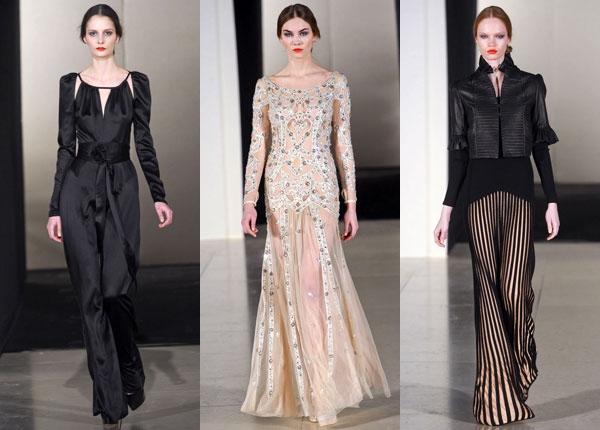 Temperley London Fall 2011 collection