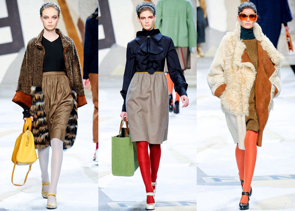 Fendi Fall 2011 runway