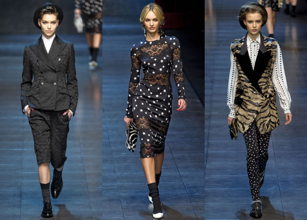 Dolce & Gabbana Fall 2011 collection