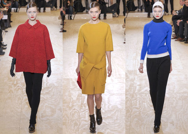 Jil Sander Fall 2011 collection
