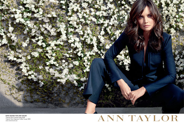 Katie Holmes Ann Taylor Ad Campaign
