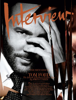 Tom Ford Interview Magazine February cover