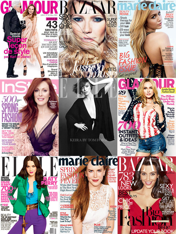 March Magazine Cover roundup