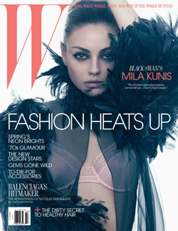 Mila Kunis W Magazine M March 2011