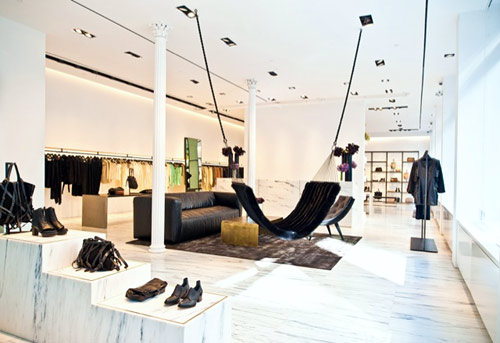 Alexander Wang store soho grand st nyc new york