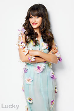 Zooey Deschanel Lucky April 2011