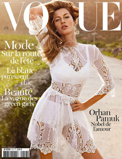 Gisele Bündchen Emmanuelle Alt Vogue Paris April 2011 cover