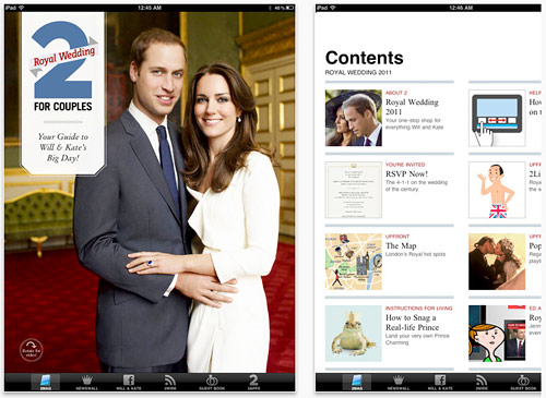 Royal Wedding 2011 App