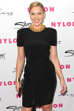 Abbie Cornish Nylon party