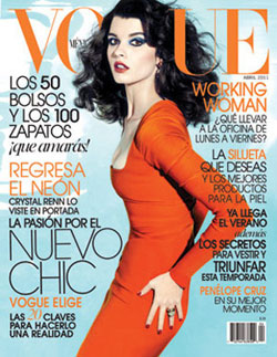 Crystal Renn Vogue Mexico cover