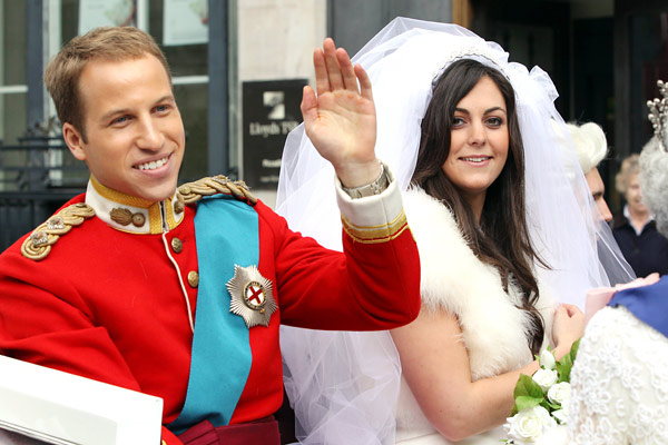 kate middleton reveals wedding dress