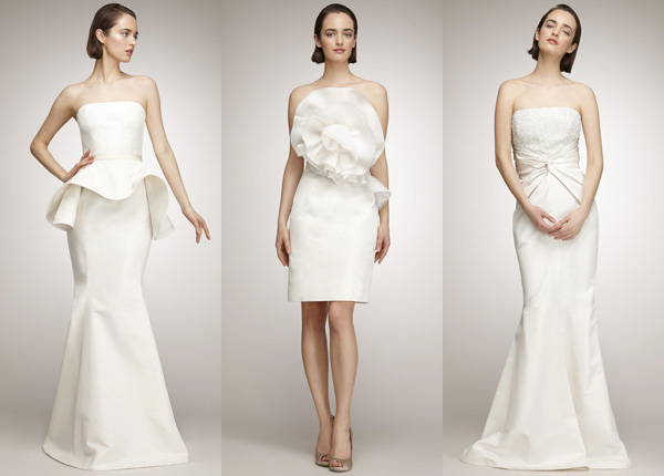 Isaac Mizrahi for The Aisle New York wedding dress collection