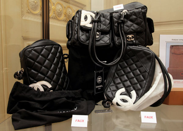 Counterfeit Chanel handbags