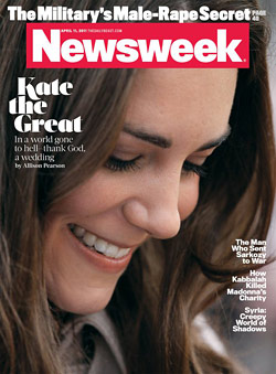 kate middleton newsweek cover