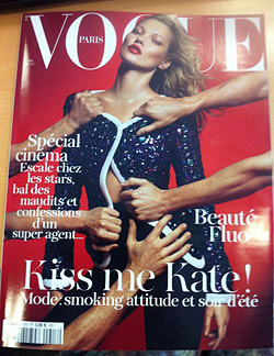 kate moss french vogue may kate, moss sur vogue paris mai