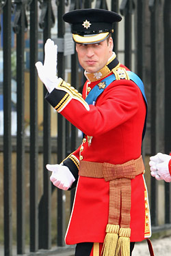 prince william uniform royal wedding