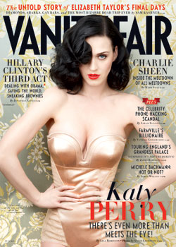Katy Perry Vanity Fair June 2011 cover