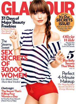 Olivia Wilde Glamour June 2011 cover