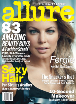 Fergie Allure July 2011