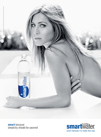 Jennifer Aniston for smartwater