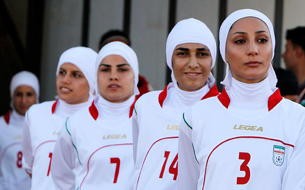 Iranian Women's Soccer Team