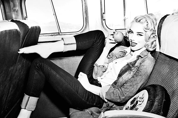 Amber Heard Guess Fall 2011 Ad Campaign
