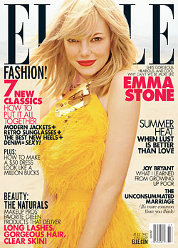 Emma Stone Elle July cover