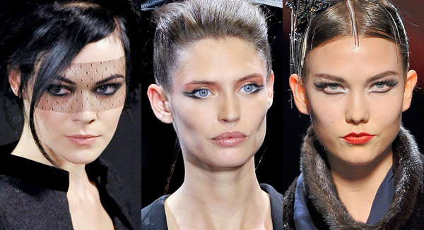 Haute Couture Fall 2011 Beauty Trends Chanel Armani Privé Jean Paul Gaultier