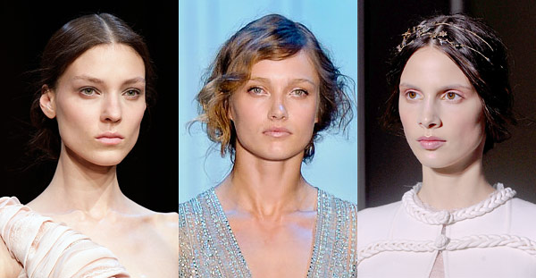 Haute Couture Fall 2011 Beauty Trends Georges Hobeika Elie Saab Valentino