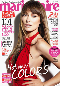 olivia wilde covers marie claire