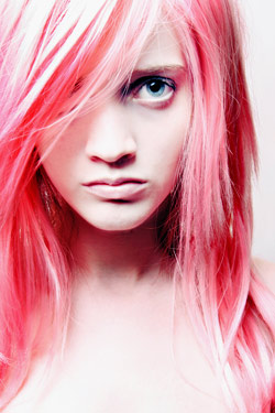 pink hair banned