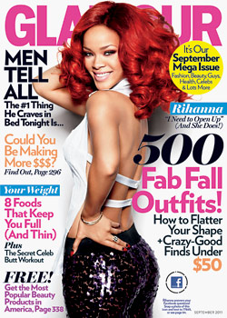 Rihanna Glamour September 2011