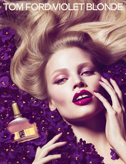 tom ford lara stone fragrance ad