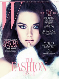 "Kristen ""Twilight"" Stewart W September cover"