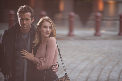 ryan reynolds rosie huntington-whitely marks & spencer ad campaign