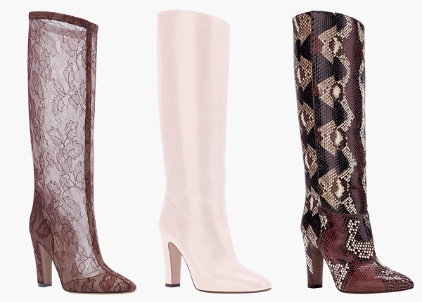 Valentino Launches Couture Boots at Bergdorf Goodman