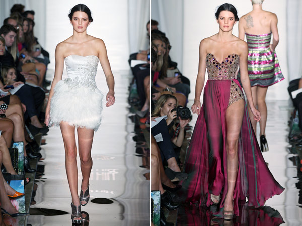 kendall jenner sherry hill runway