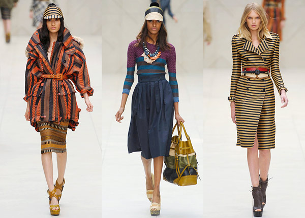 burberry spring 2012 collection